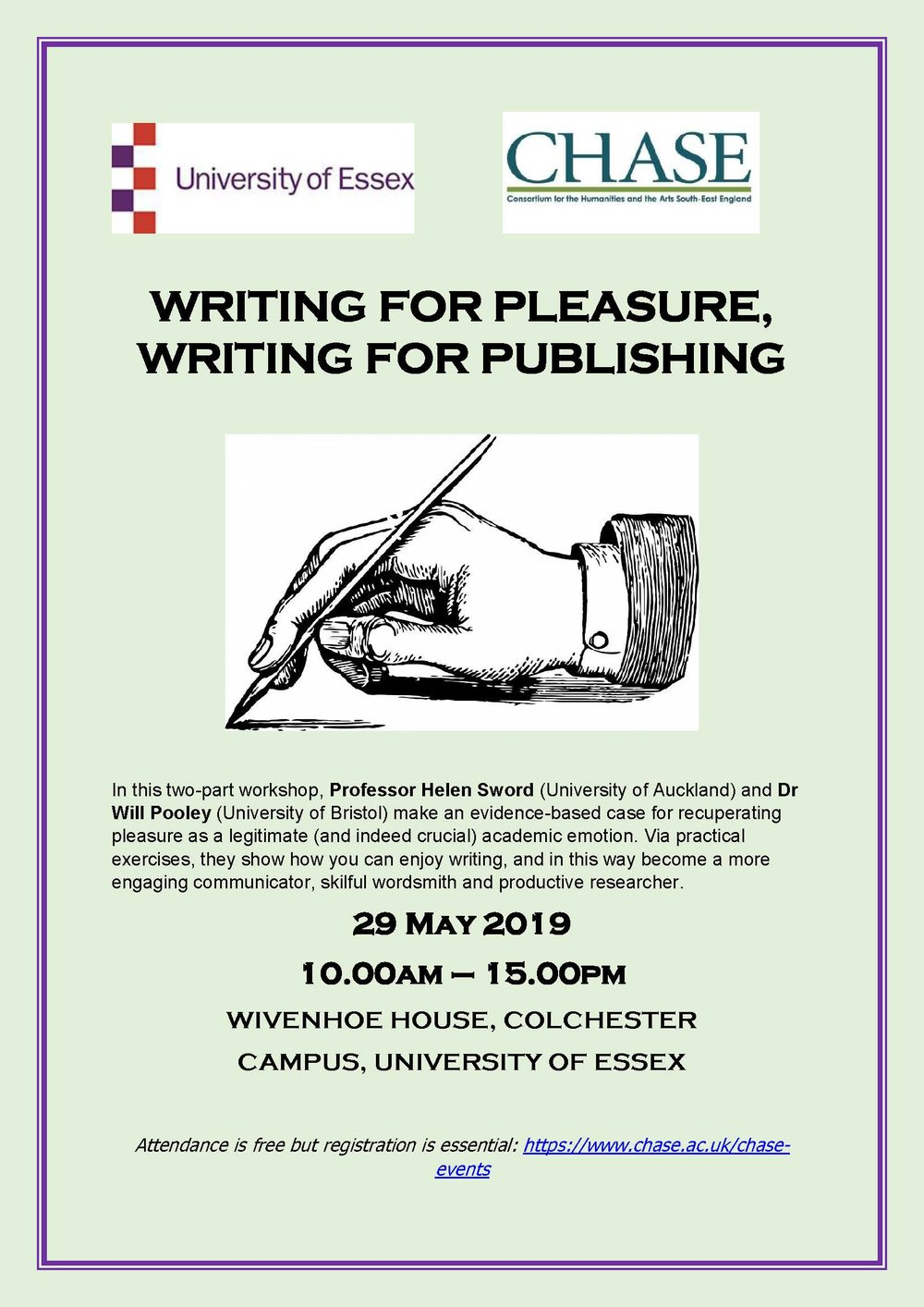 Writing for Pleasure Poster
