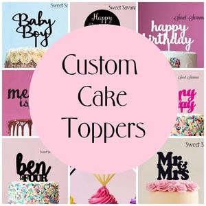 Custom Cake Toppers Australia
