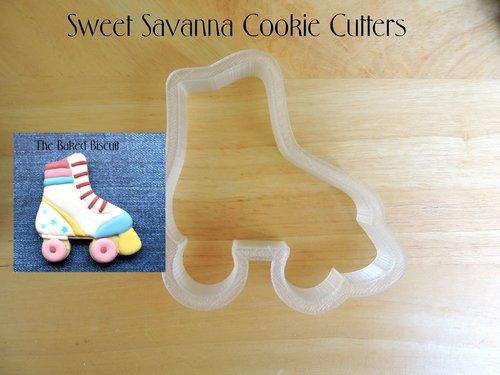 Roller Skate Cookie Cutter Rollerskate Sweet Savanna Cookie Cutters
