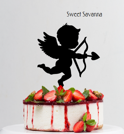 Cupid Cake Topper Valentines Day Sweet Savanna Cookie Cutters