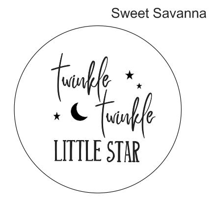 16f10cd97 Twinkle Twinkle Little Star - Embosser — Sweet Savanna Cookie Cutters