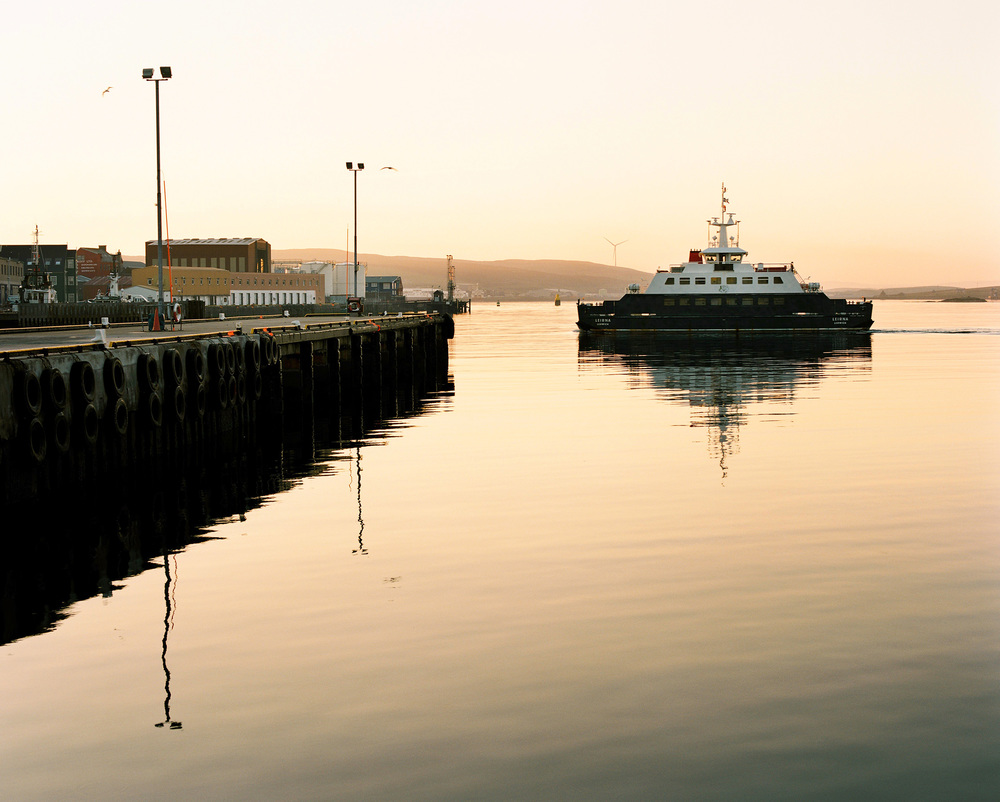 Lerwick, Shetland.  Mamiya RZ67, Kodak Portra 160