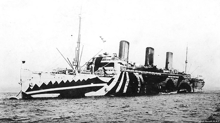 razzle-dazzle-Leviathan 1918.jpg