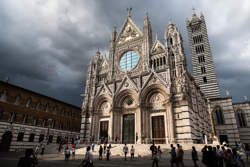 Storm in Siena