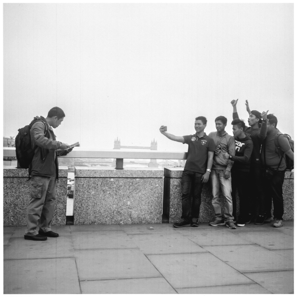 Selfie Gang, London Bridge.