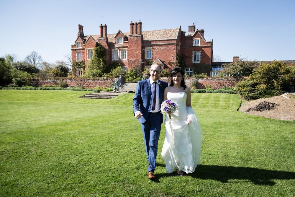 Ange and Jim's Cambridgeshire wedding