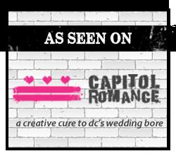 As seen on Capitol Romance - Boraie Photography