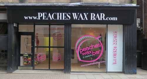 Peaches Wax Bar @ 4 Manor Street, Falkirk, FK1 1NH