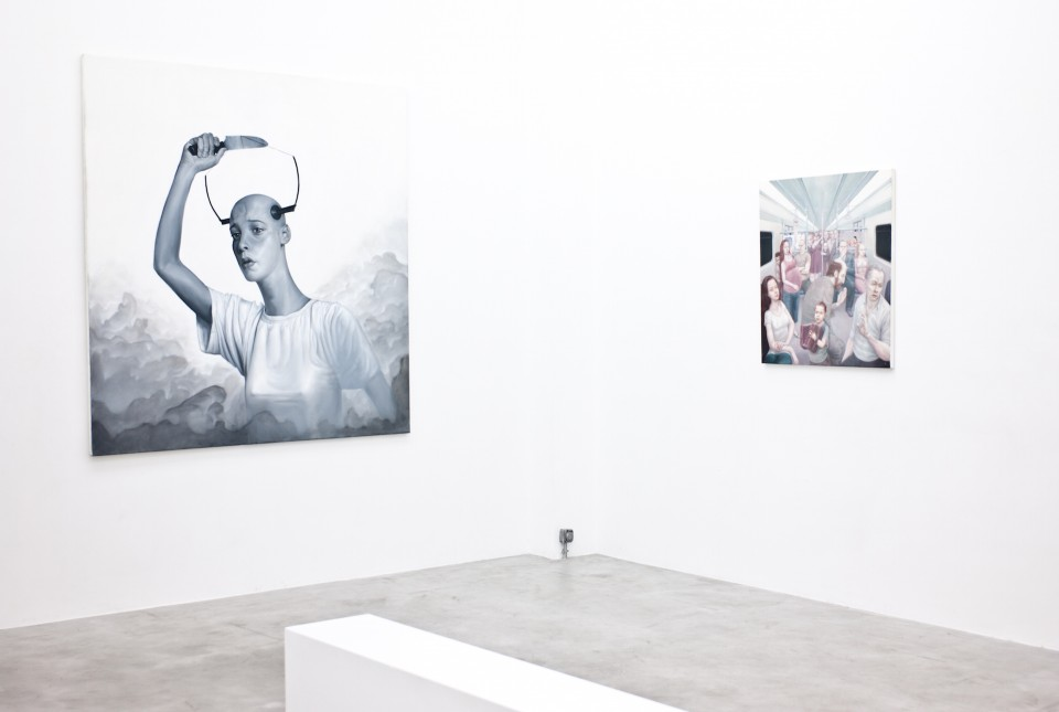 BAD PAINTING  Group exhibition at BETON7  March 23 - March 6, 2015  Photo credit:   Aggelos Christofilopoulos / FOSPHOTOS