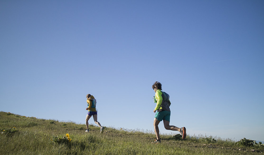Improved mobility for trail runners. Photo: Audrey Kranz