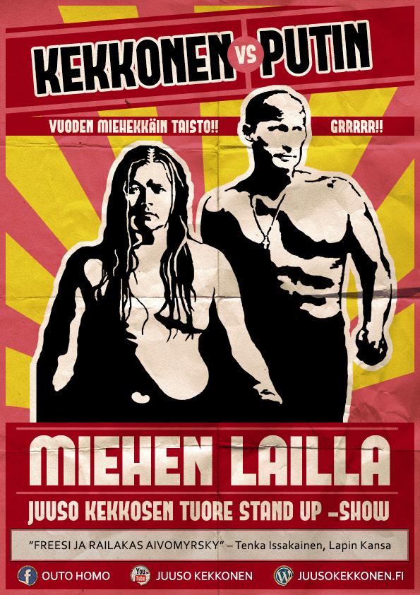 Juliste: Unni Leinonen & Mira Eskelinen