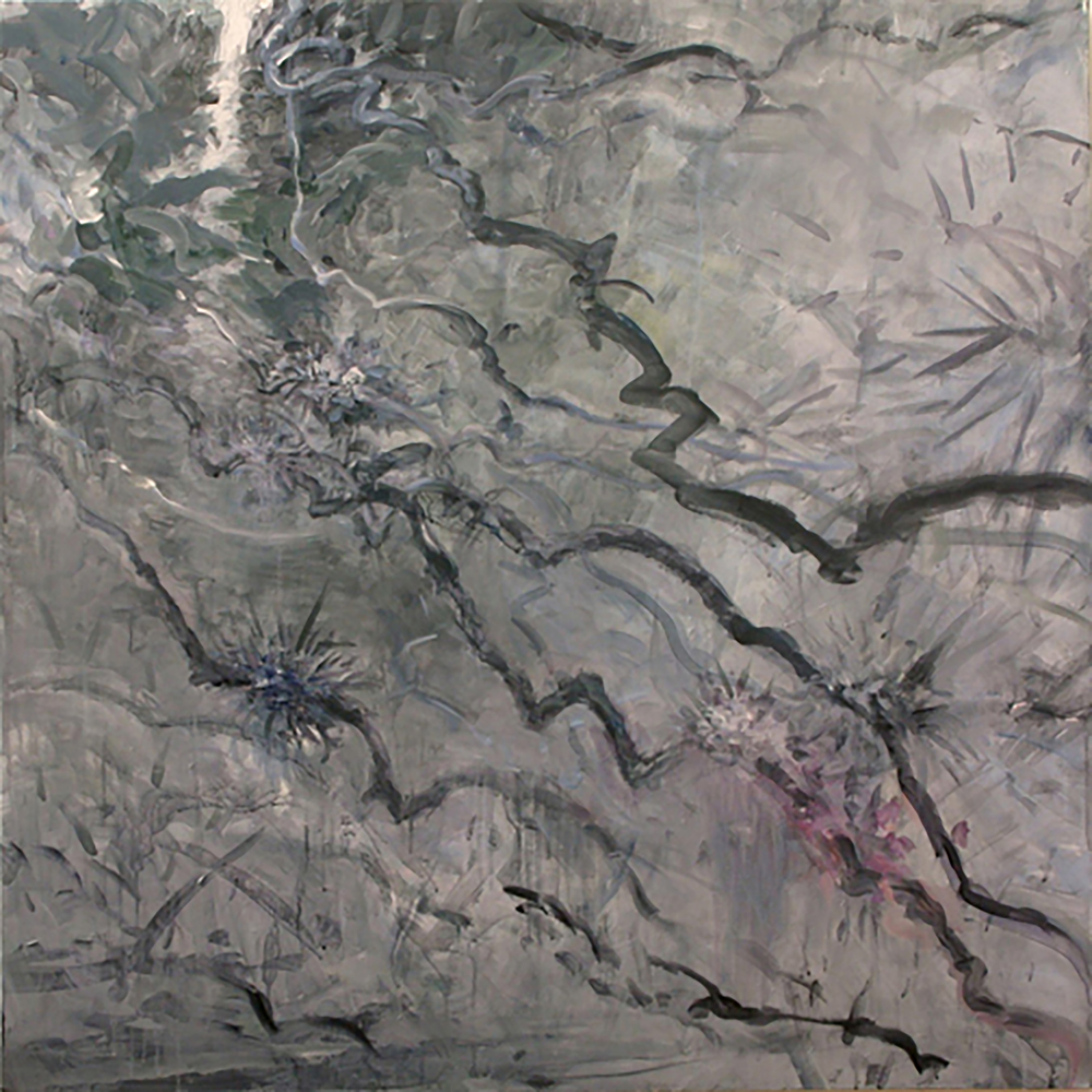 "JUNGLE VINES 3 (30X30"") 2012"