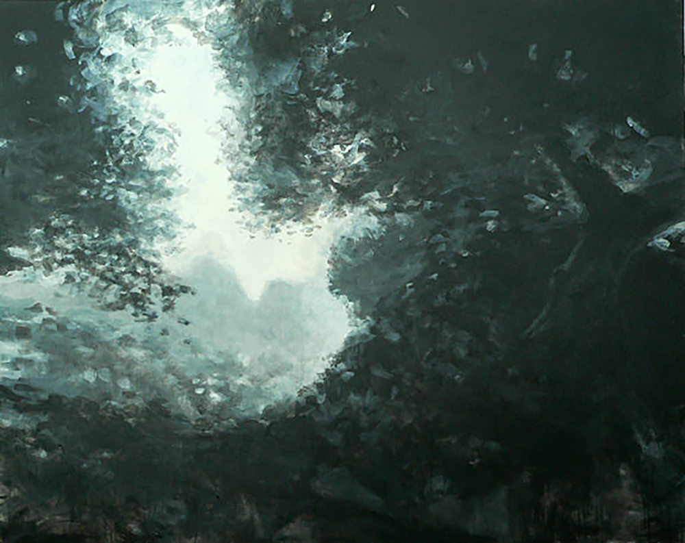 "LANDSCAPE ( from a movie) (48x60"" ) 2008"