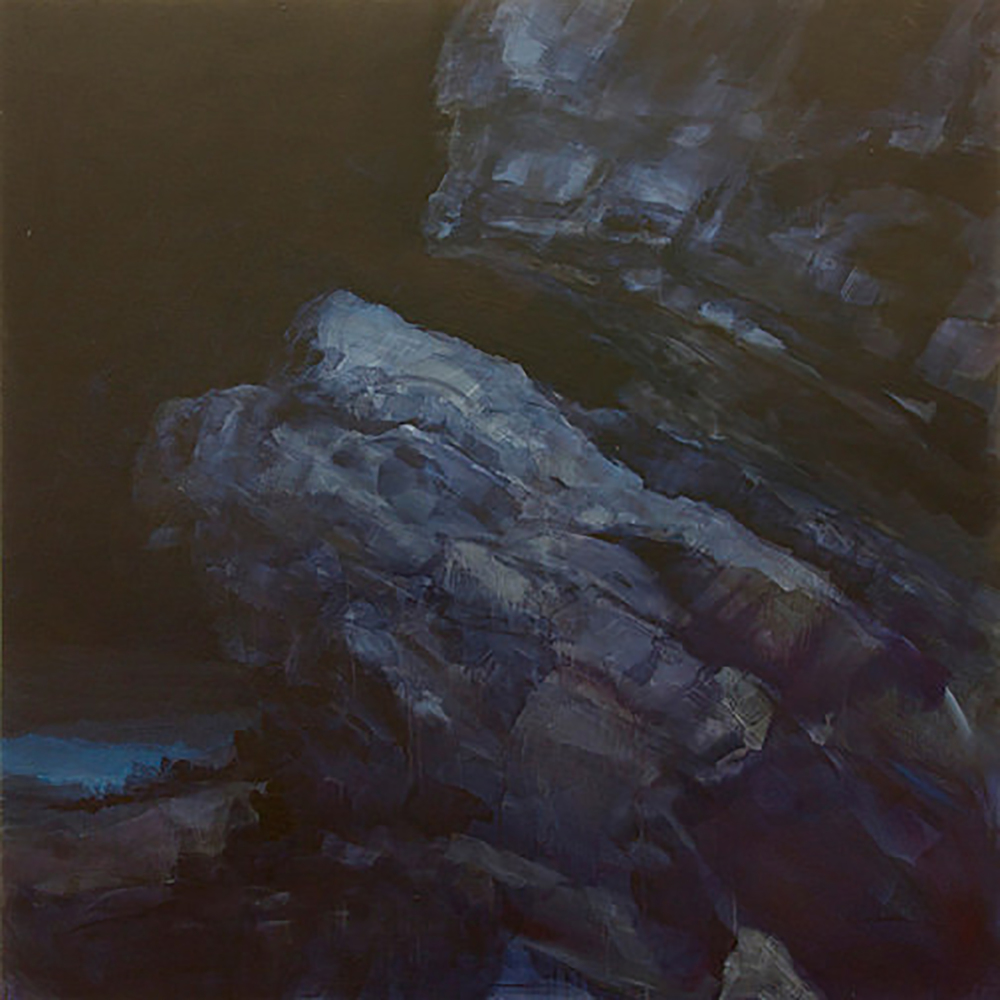 "NIGHT ROCKS  2 (48X48"") 2009"