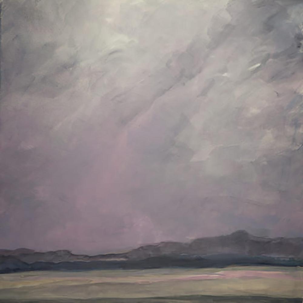 "Red Sky ( 24x 24"") 2010"