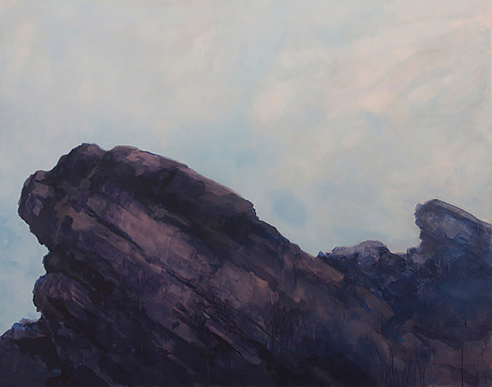 "RED ROCK (48X60"") 2009"