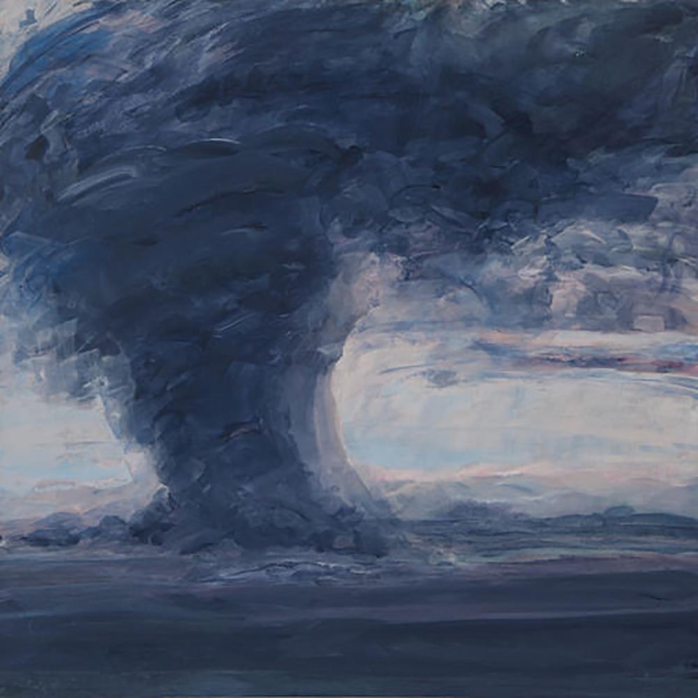"TORNADO 2 (24X 24"") 2010"