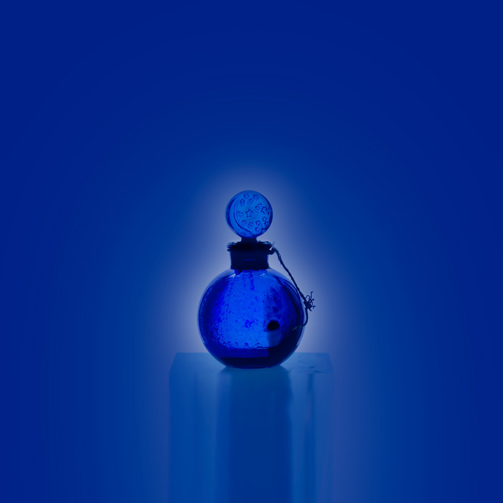 Small Bottles Blue 2, 2017