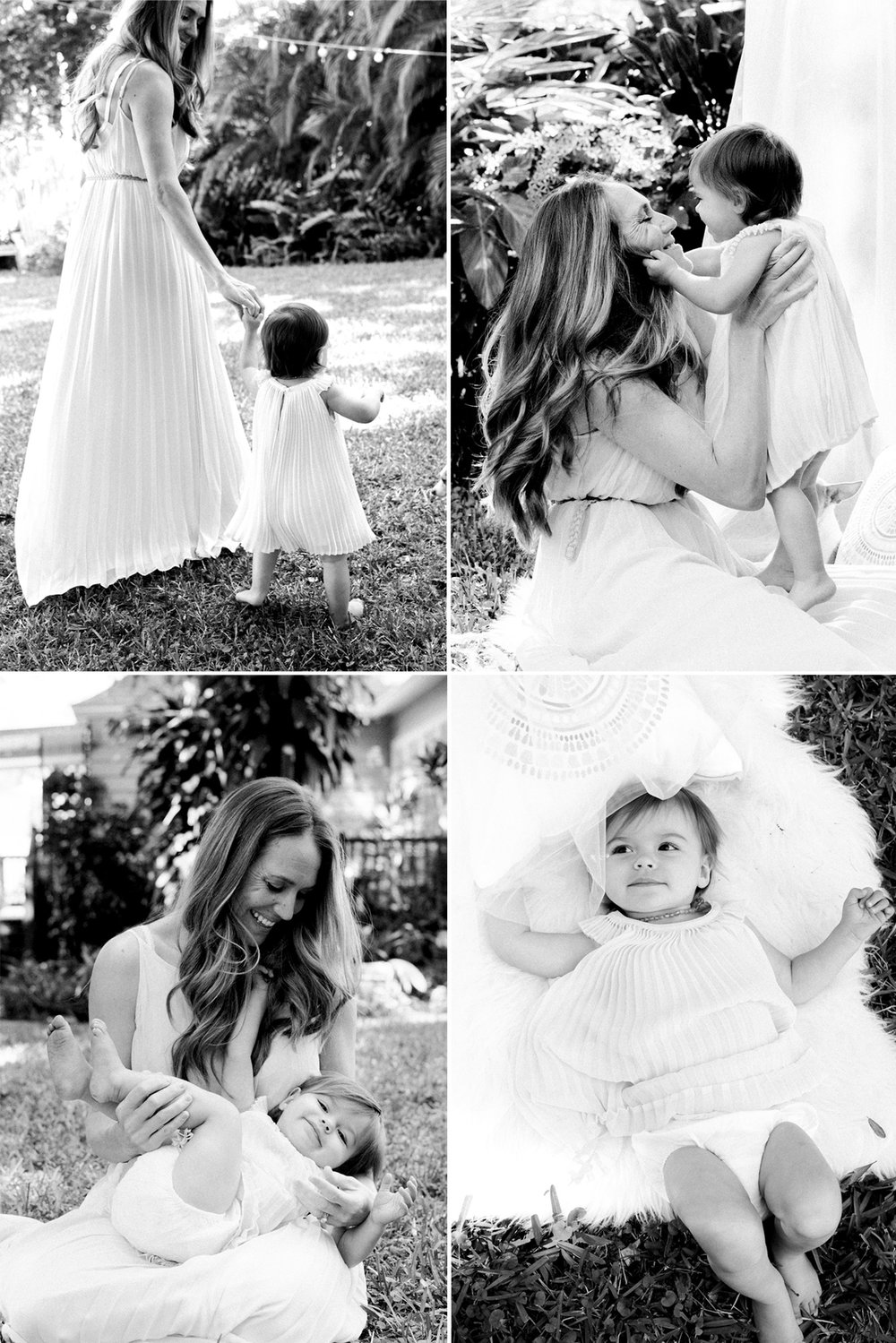 Mommy and Me sessions offered by Carlie Chew Photography of St. Petersburg, Florida for Mother's Day