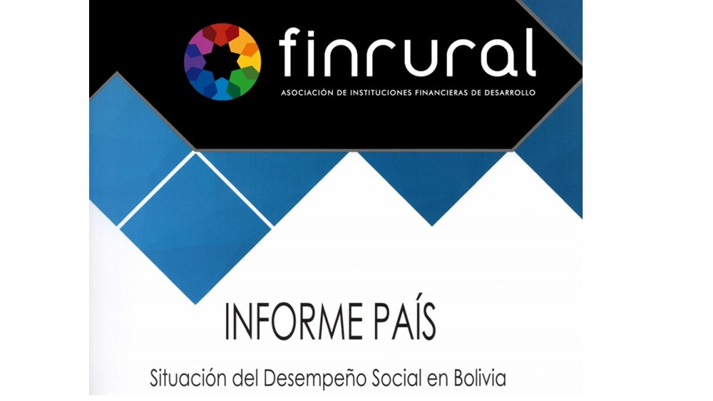 Example of SPI4 data aggregated for the Social Performance report by the national network of Bolivia,Finrural