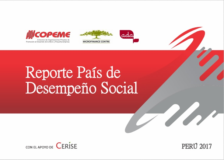 Example    of SPI4 data aggregated for the Social Performance report by the national network of Peru,    COPEME