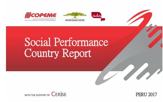 Exemplebenchmarks utilisé par le réseau COPEME au Pérou pour produire le rapport national de Gestion de la Performance Sociale