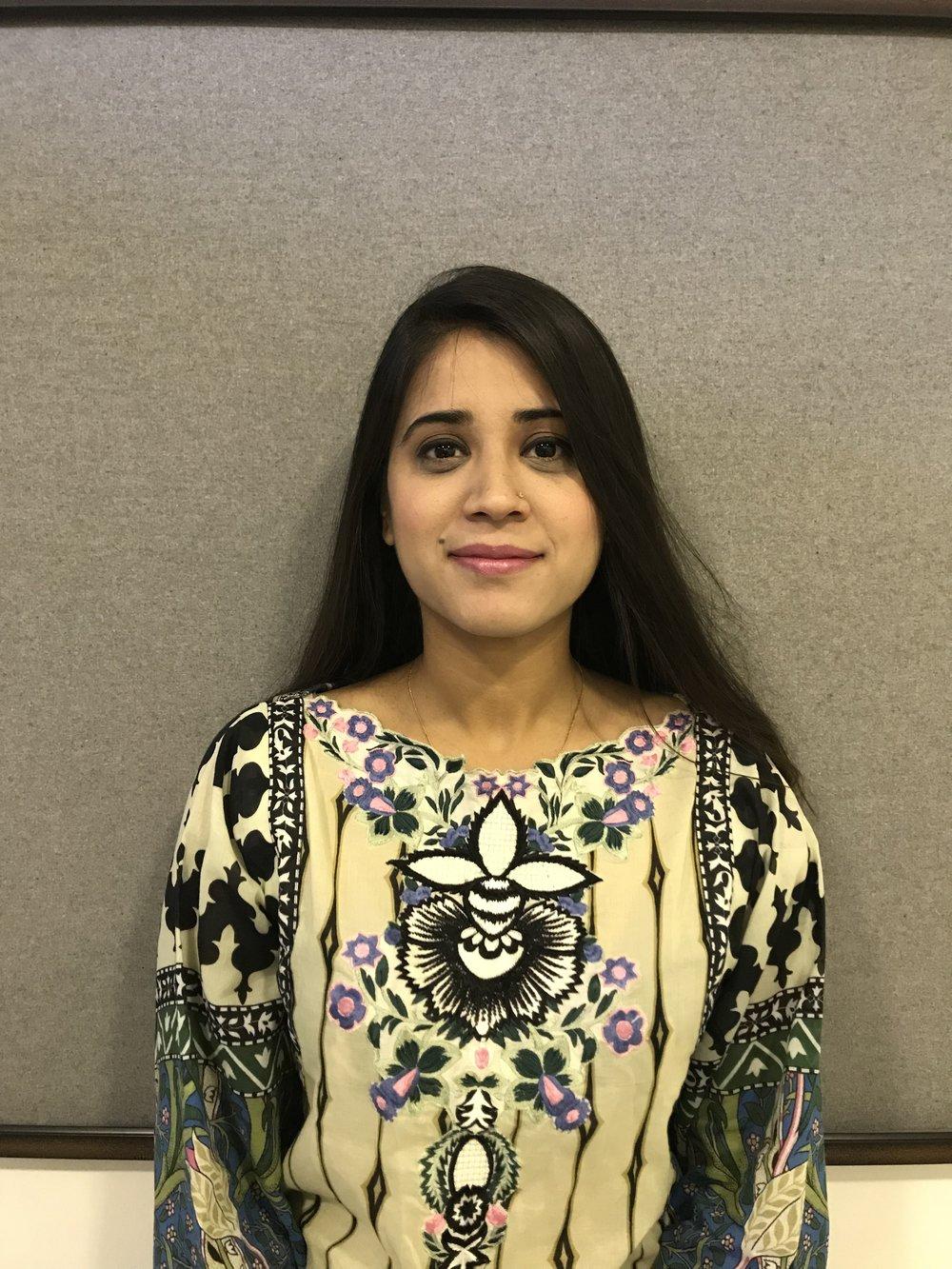 Maida Zafar, PMN