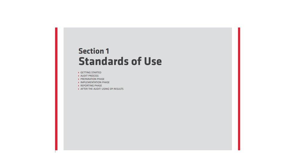 Sección 1: estándares de uso SPI4