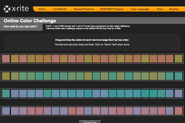 X-rite - Online Color Challenge
