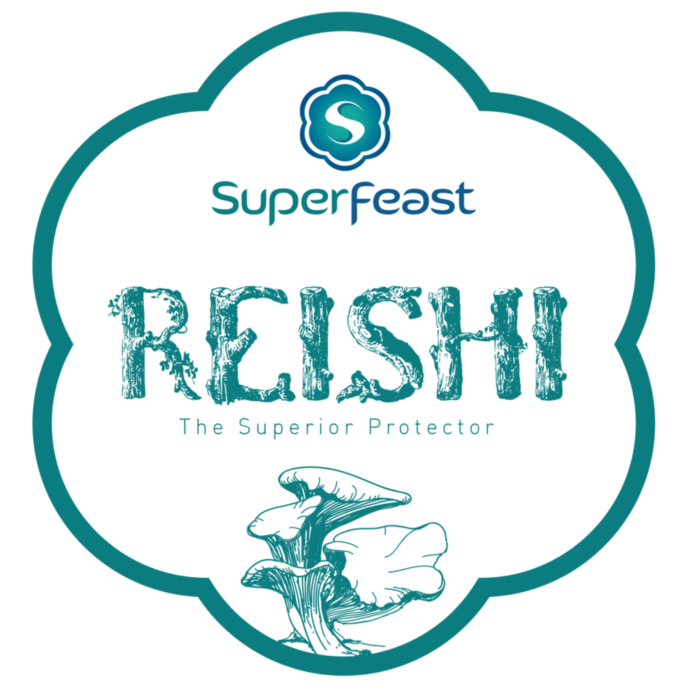 Wild Reishi Mushroom Powdered Extract   +  THE SUPERIOR PROTECTOR  +