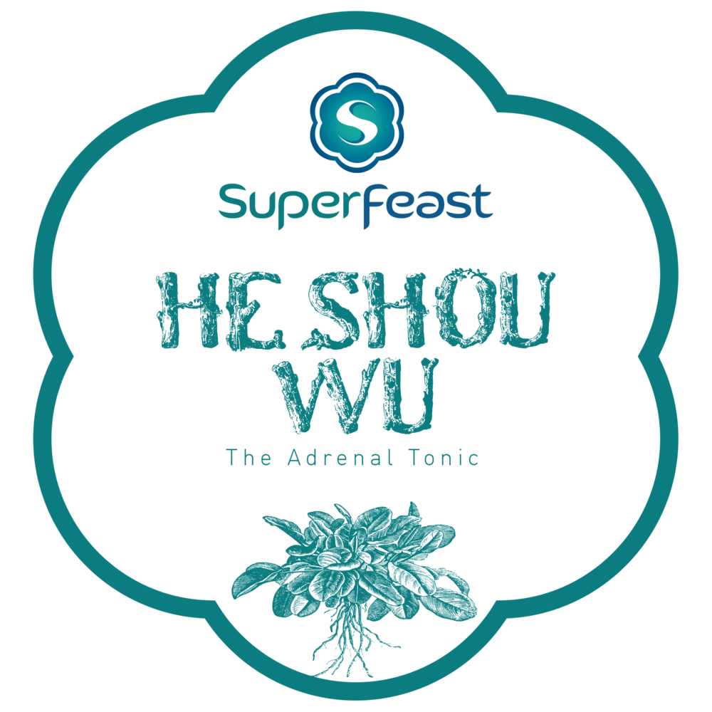 He Shou Wu Root Powdered Extract   +THE ADRENAL TONIC   +