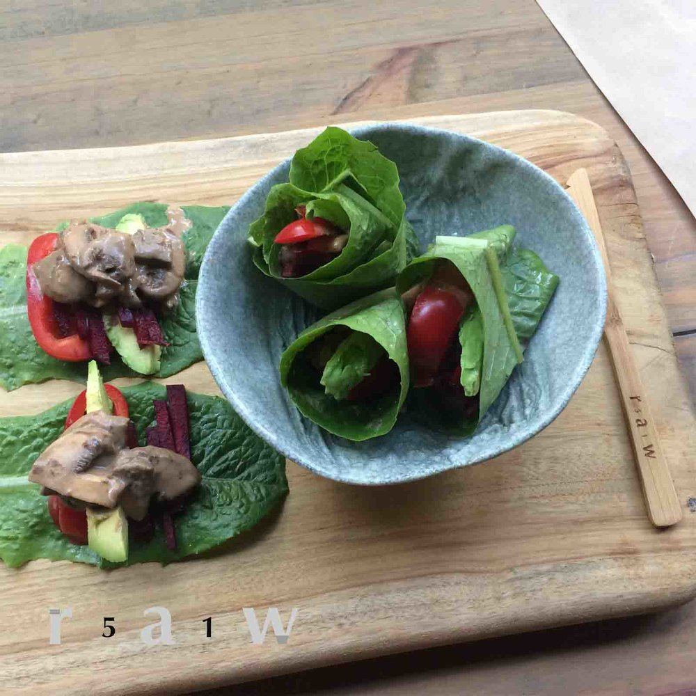 raw-food-diet-marinated-mushroom-lettuce-wrap-recipe-51raw