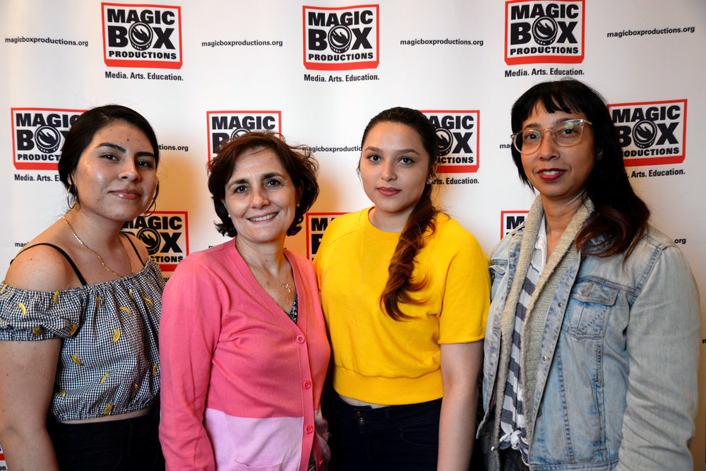 Estelly Hernandez, Marta Ralston, Silvia Canales, Heather Scott