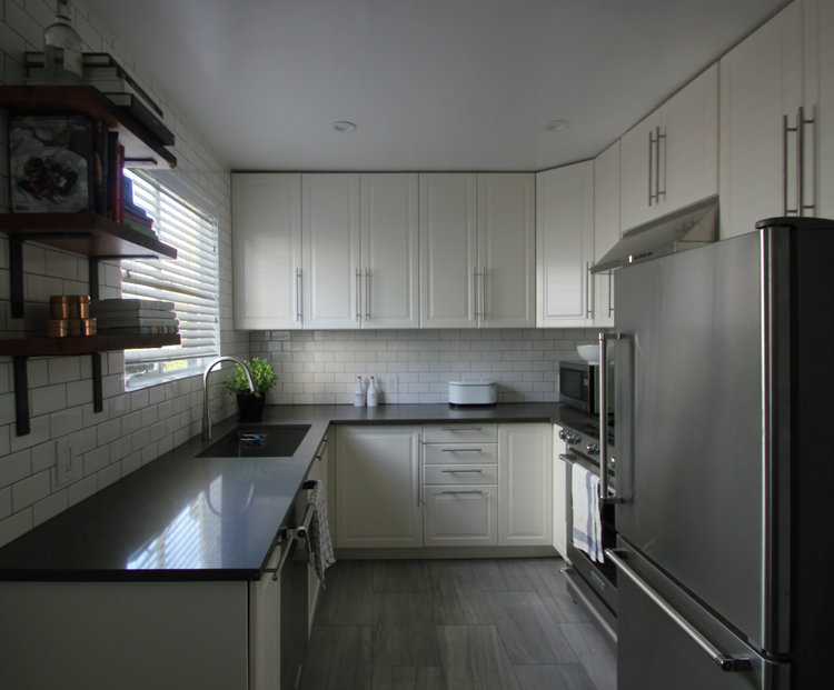 Condo KitchenBath CNZ DESIGN - Bathroom remodel santa monica