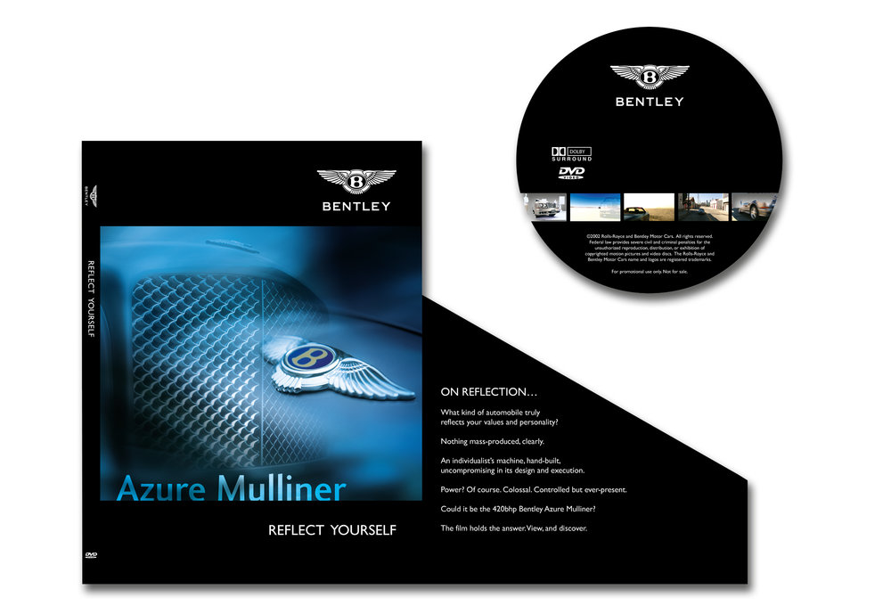 DVD sleeve and disc design