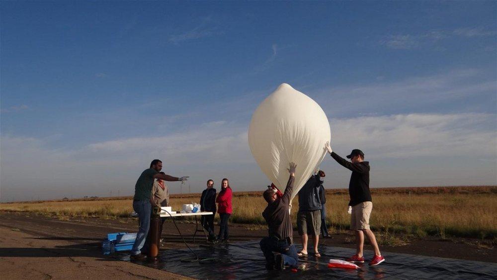 BinarySpace - Global Space Balloon Challenge 2015
