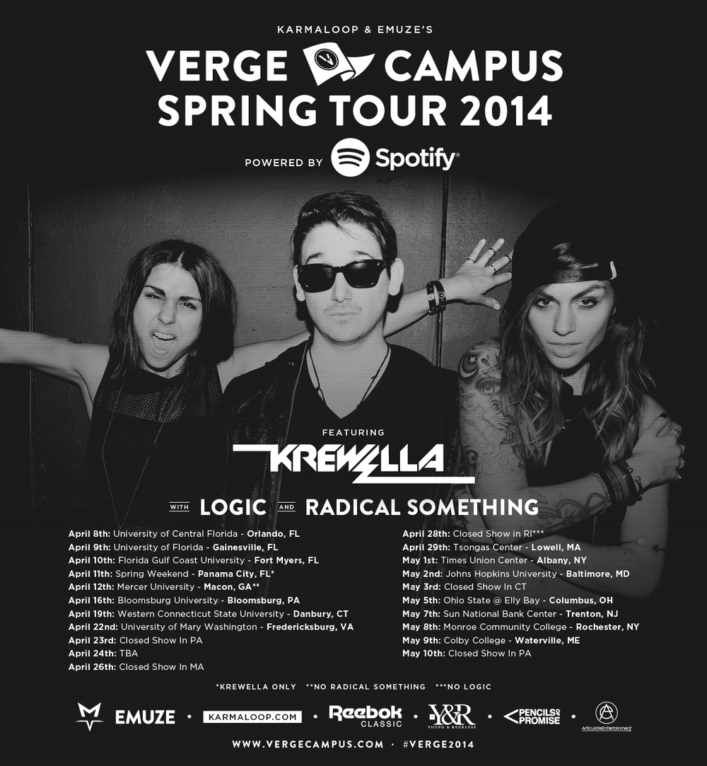VERGE CAMPUS TOUR: SPRING 2014
