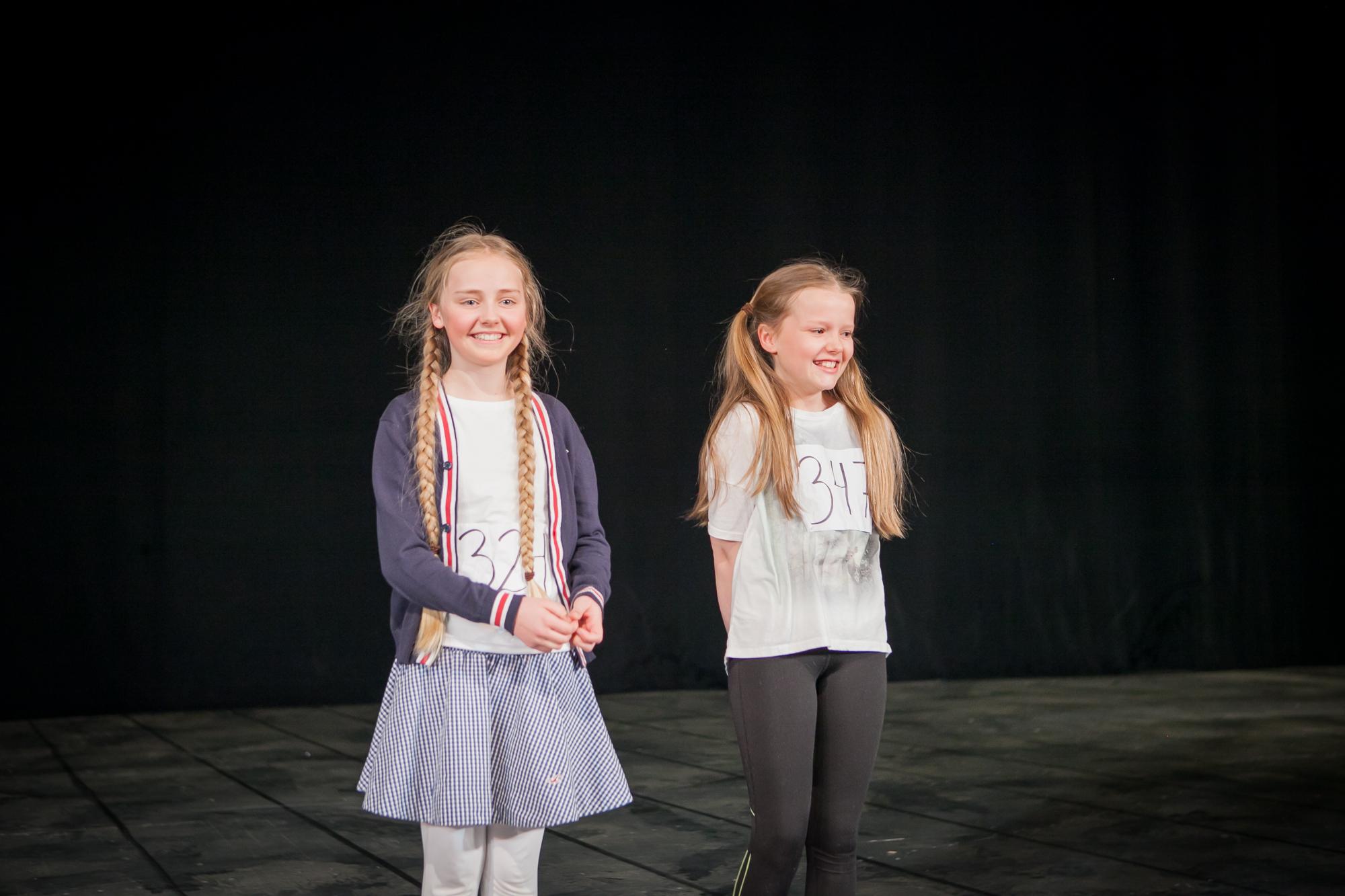 To stykk Annie blir annonsert! Mathea-Mari Glitterberg og Nora Helen Bratfos skal dele rollen som Annie på Folketeateret