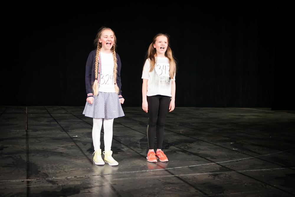 Drømmen har gått i oppfyllelse for de to jentene som skal få spille Annie