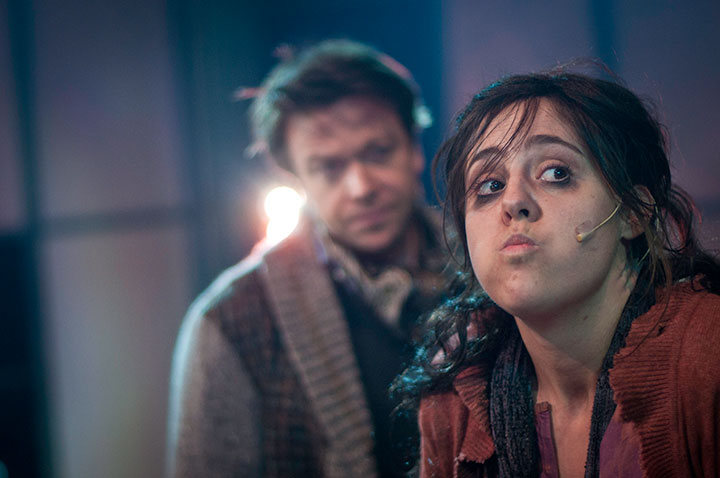 Kåre Conradi spiller Henry Higgins og Nina Hammarklev Eliza Doolitle i My Fair Lady
