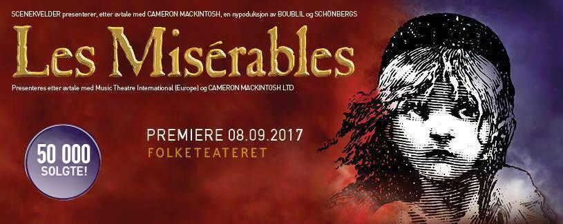 """September er snart utsolgt, og det er kun få plasser igjen i hele oktober! Vi gleder oss over enorm interesse for Les Misérables! """"Vi er takknemlige og stolte over at publikum har åpnet opp øynene for vår egen West End og Broadway-scene her i Norge! Vi gleder oss til å presentere en versjon av denne fantastiske musikalen som ingen har sett maken til her til lands!"""" forteller Les Misérables´produsent Karianne Jæger stolt. Skynd deg for å kapre de beste plassene på den gripende forestillingen Les Misérables!"""