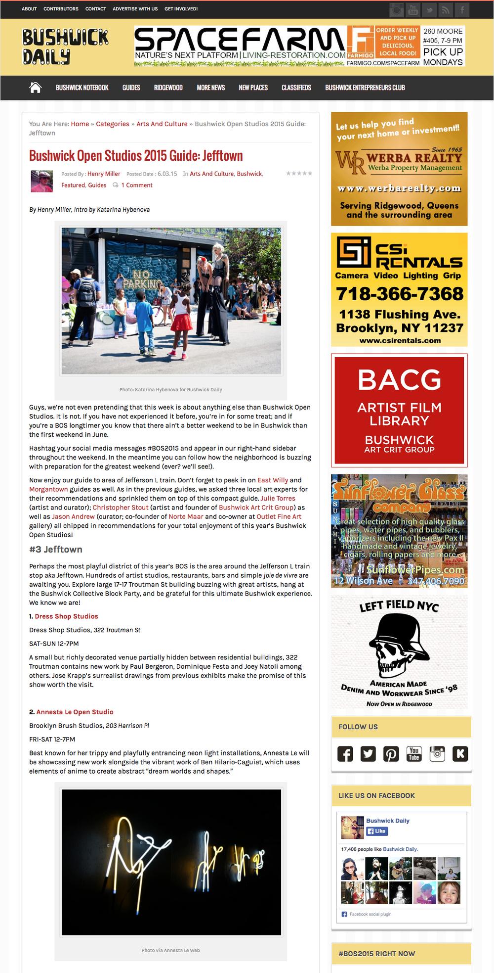 Bushwick Open Studios 2015 Guide-Jefftown | Bushwick Daily108610460.jpg