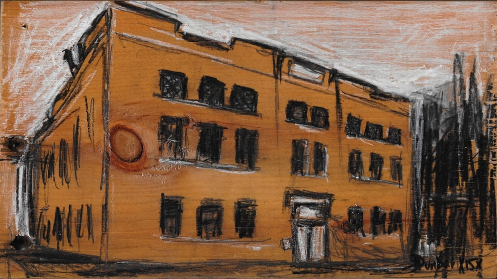 """The Bohemian National Home -SOLD - 5 1/2"""" x 9 1/2"""""""