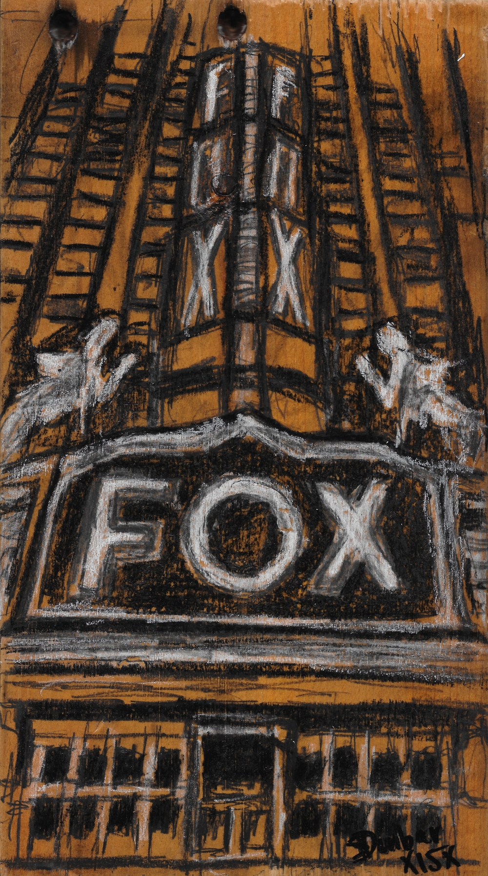 """The Fox Theater"" - $80.00 -"
