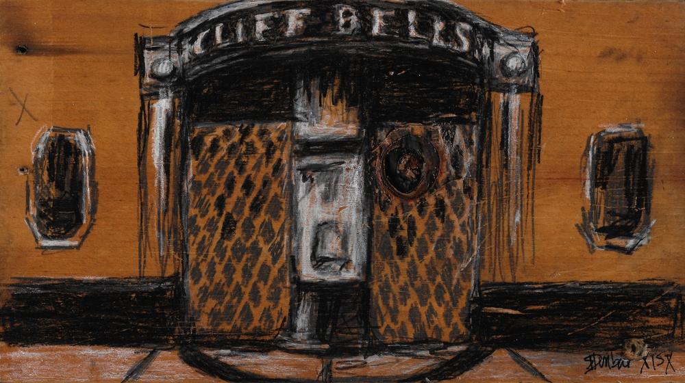 "Cliff Bells -SOLD - 5 1/2"" x 9 1/2"""