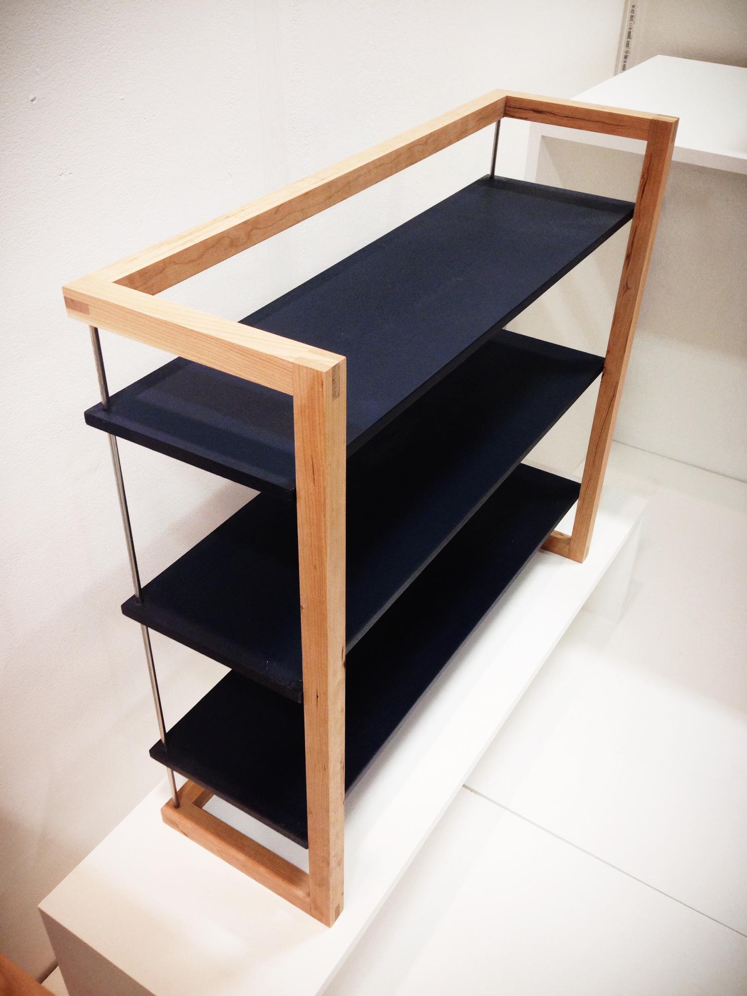 Suspended Shelves suspended shelves — studio lw furniture making & cabinet making