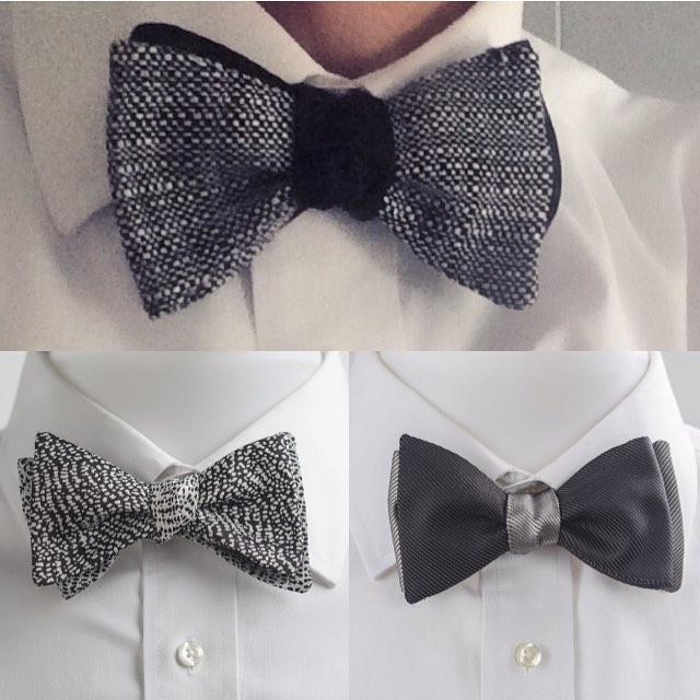 A little twist on classic black and white. Find a reason to get dressed up!  #getdressedup #esquire #gq #menstyle #mensfashionblog #dapper #dandy #bowtie #beauhawk #blackwhite #beauhawkshop