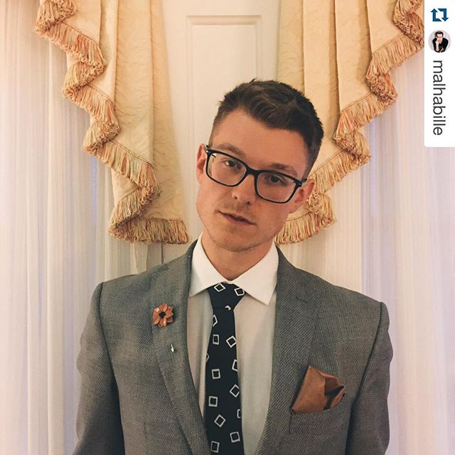 Everybody's crazy for a sharp dressed man!  There's something about a man in a suit that's so sexy. Thanks @malhabille for making @beauhawkshop look so good. #menstyle #gq #esquire #menswear #madeinusa #mensfashionblog