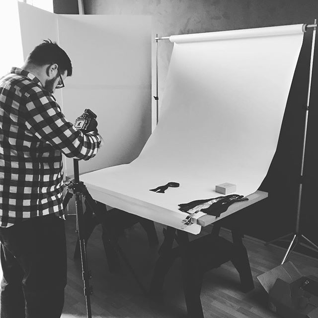 New bow ties getting their pictures made! Looking pretty! #bowties #mensfashion #photographer #behindtheseams #beauhawkshop #madeinamerica