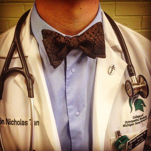 Keeping Dr.'s looking sharp. Thanks @teimojin #drwho #thedr #mensfashion #beauhawkshop